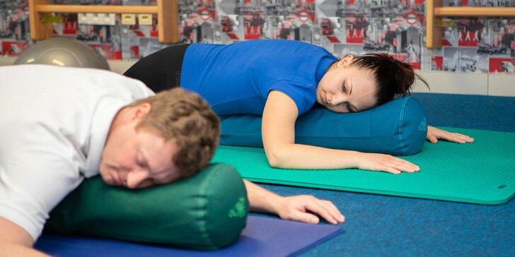 Zdravie a relax na kurzoch jogy či pilates v Rehab Klinik