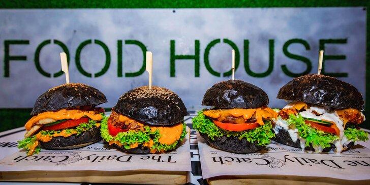 4 druhy štavnatých TOP burgerov v Kysuckom Novom Meste