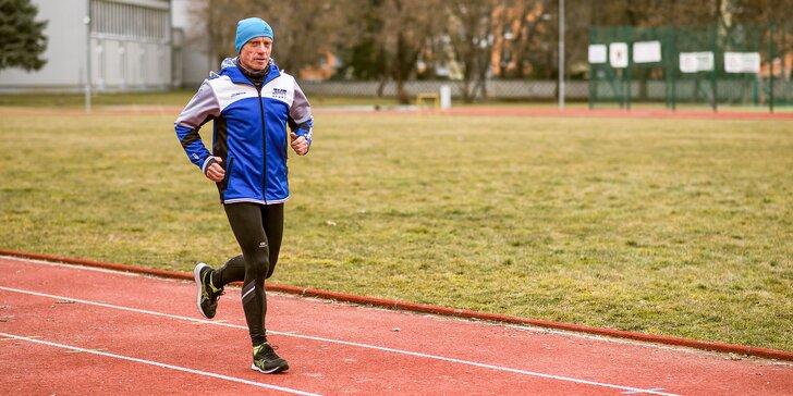 Mesačný bežecký tréningový program s profesionálnym inštruktorom