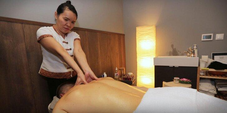 Pravá thajská masáž, aromatická olejová masáž alebo masáž chodidiel