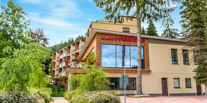 Pobyt s wellness priamo pri lanovke SKIPARK Malinô Brdo v hoteli Hrabovo**
