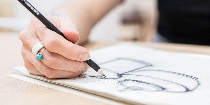 """Uvoľnite kreativitu pri jednorazovom vstupe na výtvarný kurz """"Kresba a maľba"""""""