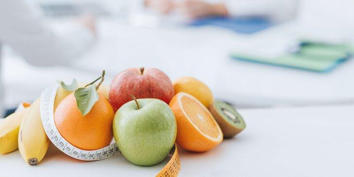 Zostavenie stravovacieho plánu certifikovanou poradkyňou pre výživu