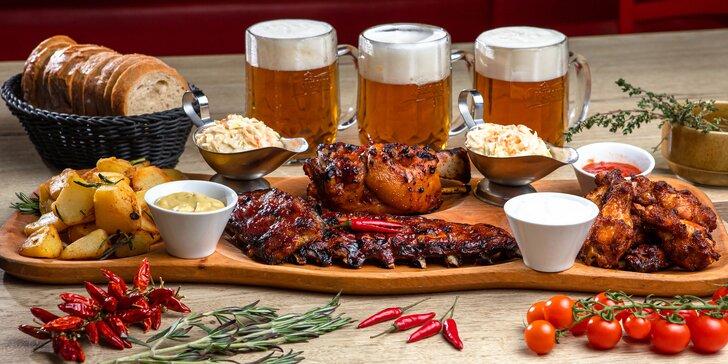 Kráľovské mäsové špeciality a tankové pivo k tomu!