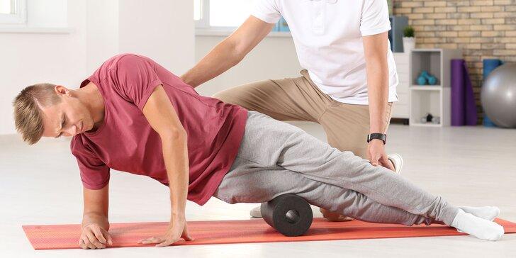 Individuálne cvičenie, komplexný balík či vyšetrenie fyzioterapeutom