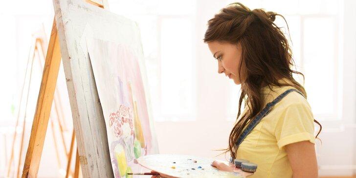 """Vstup na intuitívne maľovanie """"Form and Flow - 5 elementov"""""""