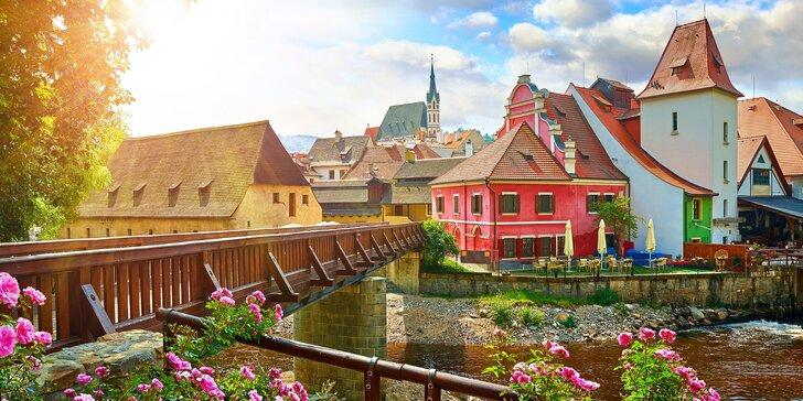 Rozprávka v českom Krumlove - pobyt v centre krásneho mesta, ktoré patrí do zoznamu UNESCO
