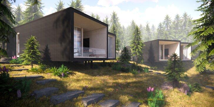 Dovolenka uprostred lesa v unikátnych Bjornson Tree Houses*** v Nízkych Tatrách