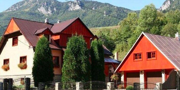 Pobyt v Zázrivskom dvore s polpenziou, privátnym mini wellness a výhľadom na Rozsutec