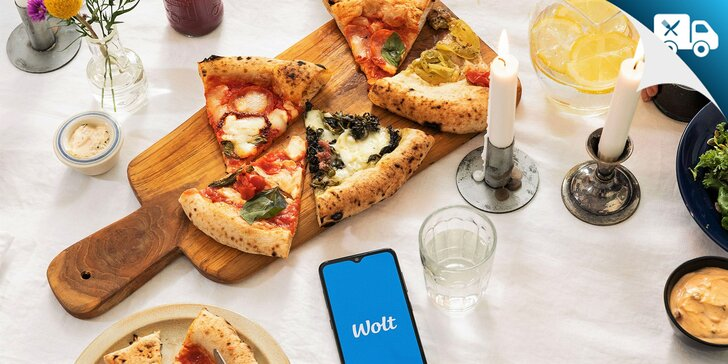 Využite 4 € zľavu na prvú objednávku jedla cez aplikáciu Wolt! Donáška v Bratislave