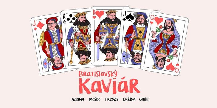 ONLINE STREAM: zábavná glosátorská show Bratislavský Kaviár