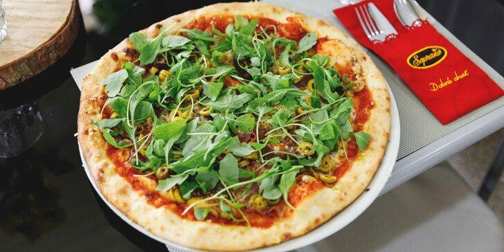 Originálna talianska pizza: až 27 druhov na výber – aj rozvoz