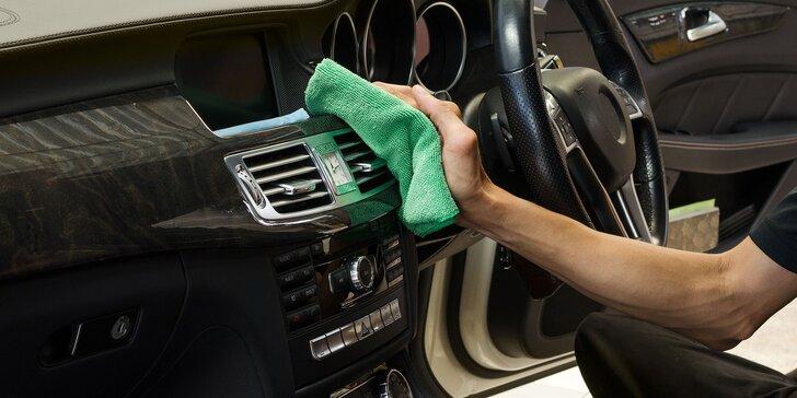 Profesionálne čistenie, tepovanie a dezinfekcia auta ozónom - likvidácia až 99,99 % vírusov a baktérií