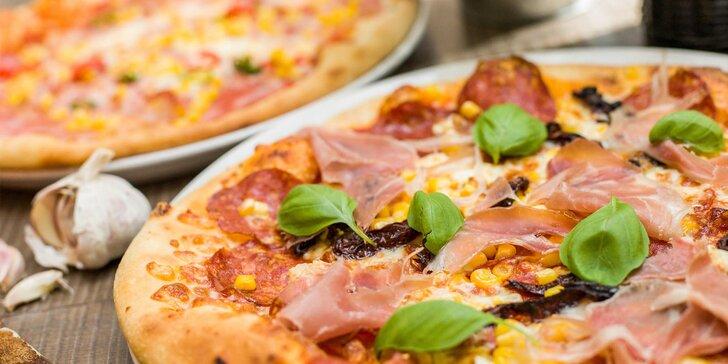Tri pizze za cenu dvoch: rozvoz alebo osobný odber
