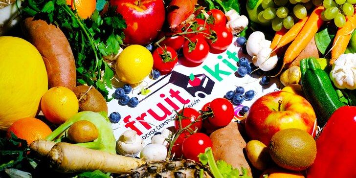 FruitKit: donáška čerstvého ovocia a zeleniny
