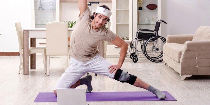 Online kurz rehabilitácie kolien po zranení alebo operácii