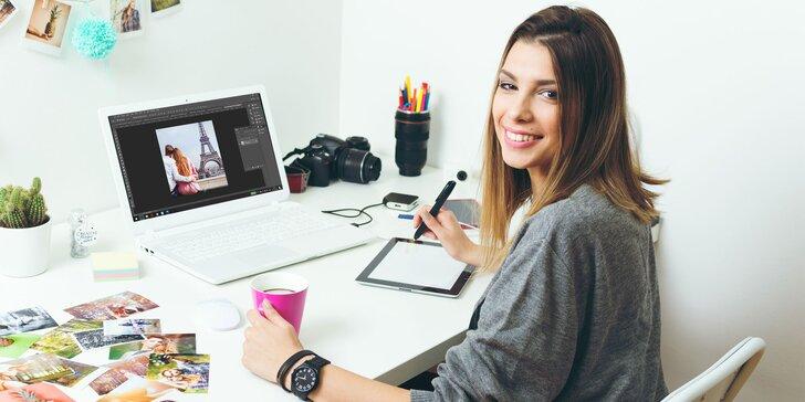 Naučte sa mágiu photoshopu vďaka komplexnému online kurzu