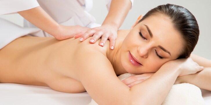 Celotelová masáž alebo permanentka na masáž chrbta a krčnej chrbtice
