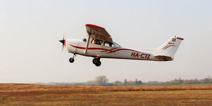 Zážitkový let aj s možnosťou pilotovania