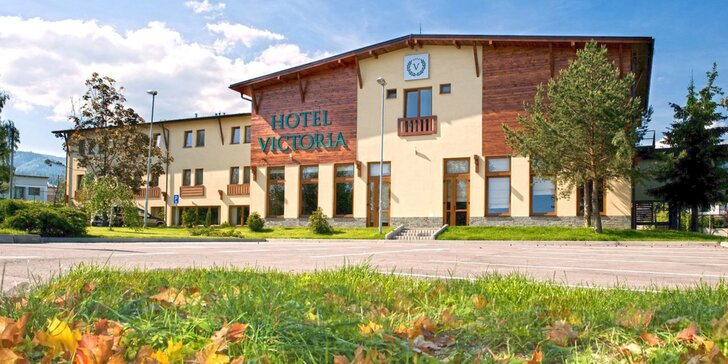 Dovolenka pod Martinskými hoľami v Hoteli Victoria**** s novým rozšíreným wellness a 3 hodinami aktivít
