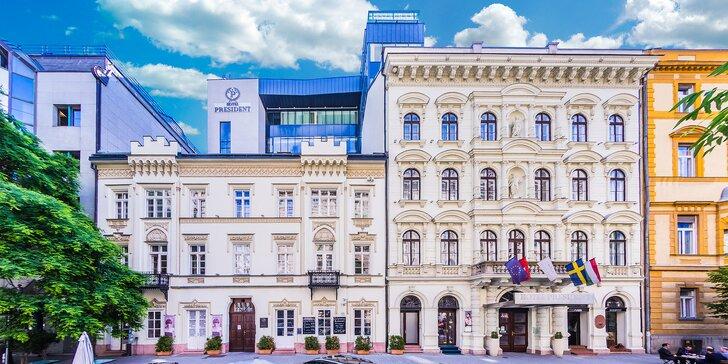 Pobyt v srdci Budapešti v elegantnom 4* hoteli s wellness a vyhliadkovou terasou