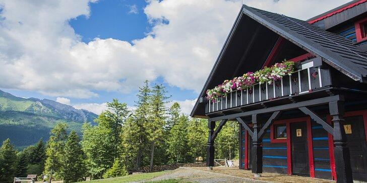 Pobyt v srdci prírody v zrubovom domčeku Chalet Strachan