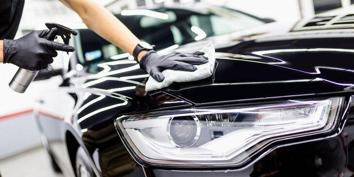 Čistenie interiéru a exteriéru auta + kompletná dezinfekcia ozónom