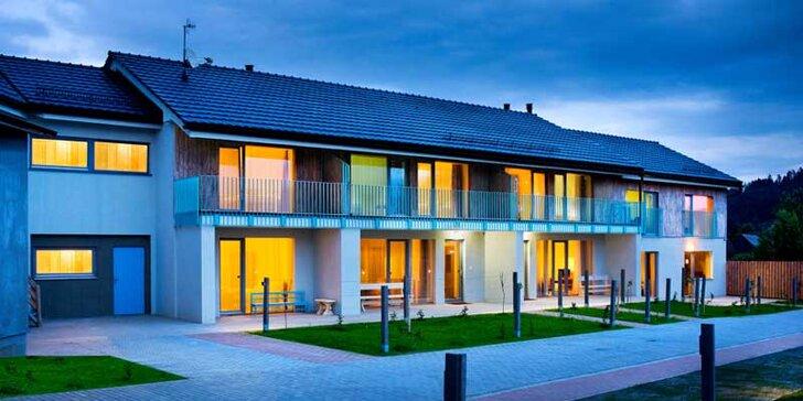 Novovybudovaný apartmánový komplex Čerešňový sad s množstvom aktivít po okolí a s wellness