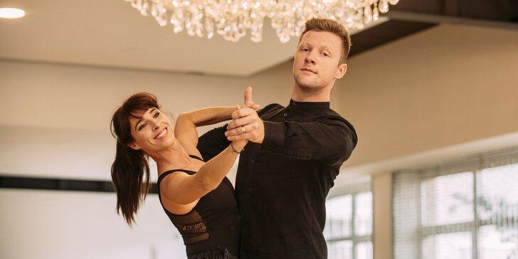 Tanečné kurzy pre páry alebo individuálne hodiny tanca