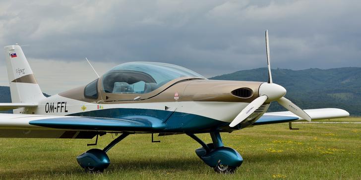 Let lietadlom Viper SD4 alebo Cessna 150 s možnosťou pilotovania