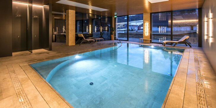 Luxusný, novozrekonštruovaný Hotel Impozant**** so špičkovým wellness, animáciami a športami vo Valčianskej doline