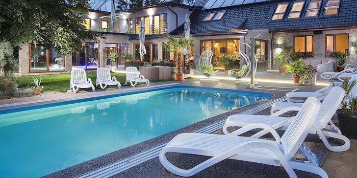 Skvelý pobyt s bazénmi iba pre ubytovaných hostí v Aqua & Wellness Resort Alžbeta na Liptove