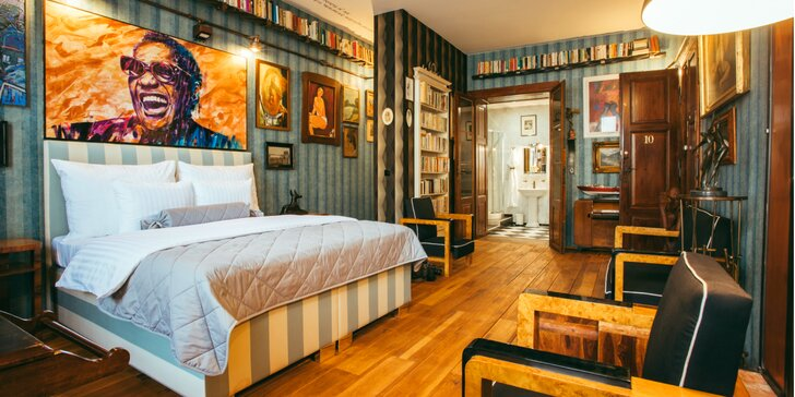 Luxusný zážitok z ubytovania priamo v galérii - to ponúka Divná Pani Luxury Rooms***** v Banskej Štiavnici