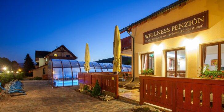 Pobyt v obľúbenom penzióne Motýľ*** pri Bešeňovej s vonkajším vyhrievaným bazénom, wellness a množstvom aktivít
