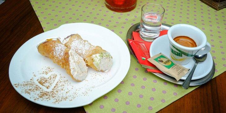 Ochutnajte originálne sicílske cannoli a lahodnú taliansku kávu - TAKE AWAY