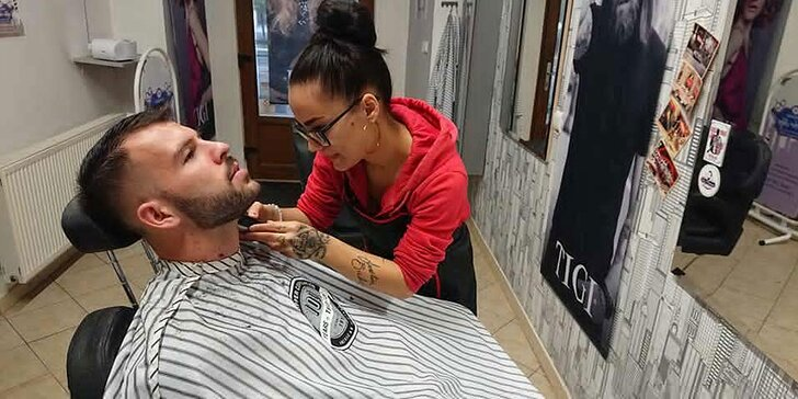 Pánsky strih a úprava Brady v Barber Shope NY priamo v centre Košíc