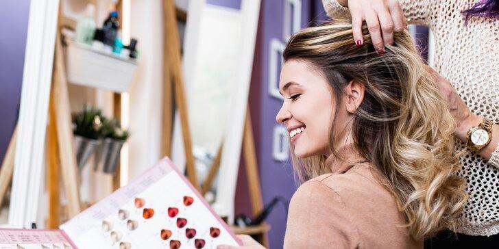 Dámsky strih, melír alebo styling s profi vlasovou kozmetikou