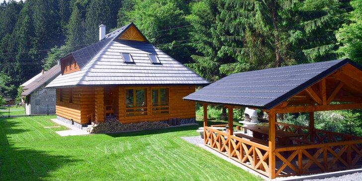 Čarovné LETO v krásnej chate neďaleko Donovalov