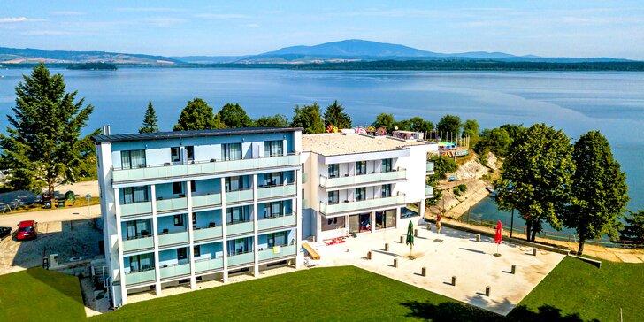 Dovolenka v novom Hoteli Prístav*** na brehu Oravskej priehrady s možnosťou výhliadkovej plavby na lodi na Slanícky ostrov