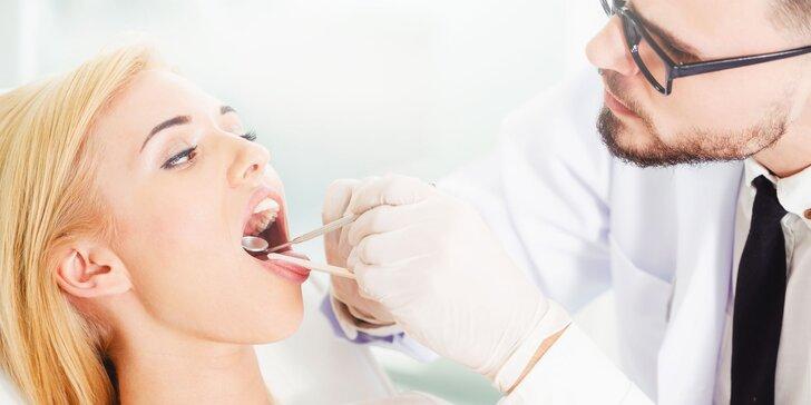 Dentálna hygiena s AIR FLOW pieskovaním (aj bez)