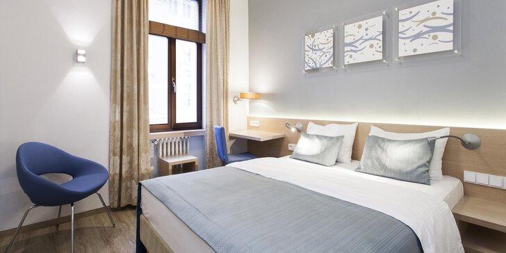 Komfortné ubytovanie v centre Prahy: 3 typy izieb a bohaté raňajky