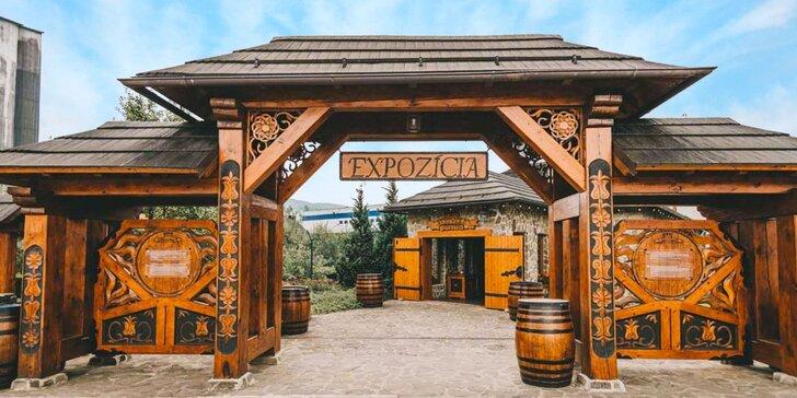 Prehliadka expozície Nestville Distillery aj s degustáciou prvej slovenskej whisky!
