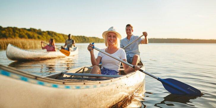 Splav Malého Dunaja na trase Tomášov - Jelka