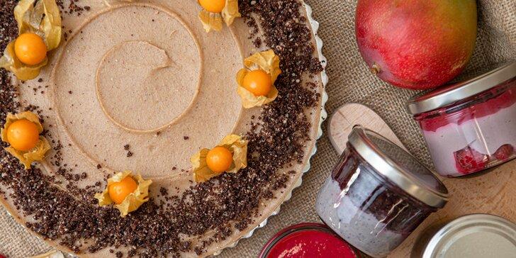 Zdravé maškrtenie: RAW torty a krémy na donášku