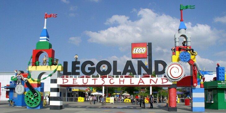 Návšteva Legolandu: svet kociek a zámok Neuschwanstein počas 2-dňového zájazdu