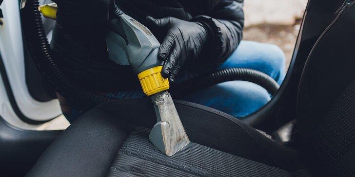 Tepovanie a čistenie vozidla alebo dezinfekcia klimatizácie ozónom