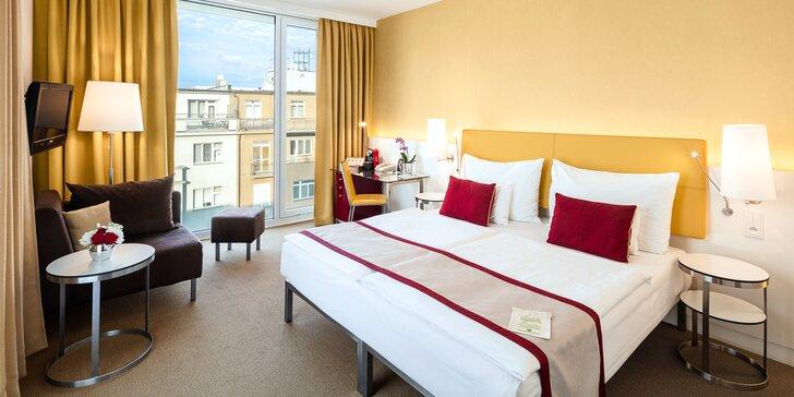 4 * pobyt v dizajnovom hoteli v Prahe: rodinný aj romantický pobyt, raňajky, zábava pre deti a možnosť wellnessu