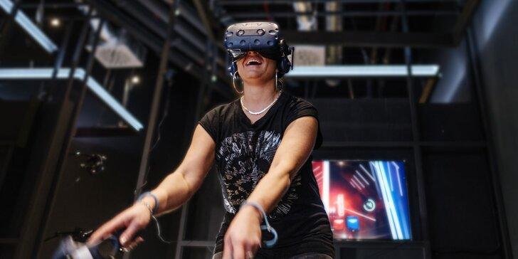 Virtuálna realita v zábavnom centre Galaxia