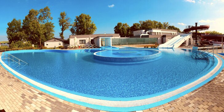 Úžasné leto v hoteli Termály Malé Bielice s gurmánskou polpenziou alebo plnou penziou a neobmedzeným aquaparkom každý deň