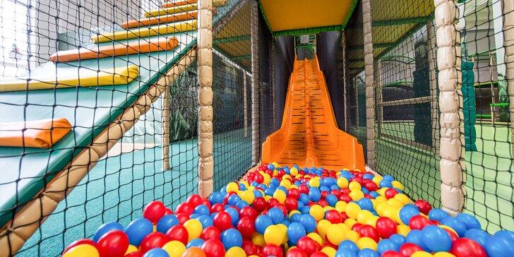 Hodinová zábava pre vaše deti v indoorovom ihrisku Fundiland cez týždeň či víkend!
